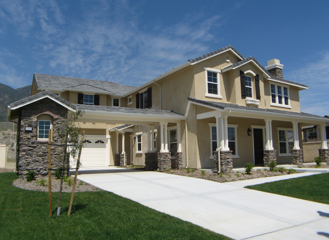 Rancho cucamonga 5 star custom homes for Housing builders